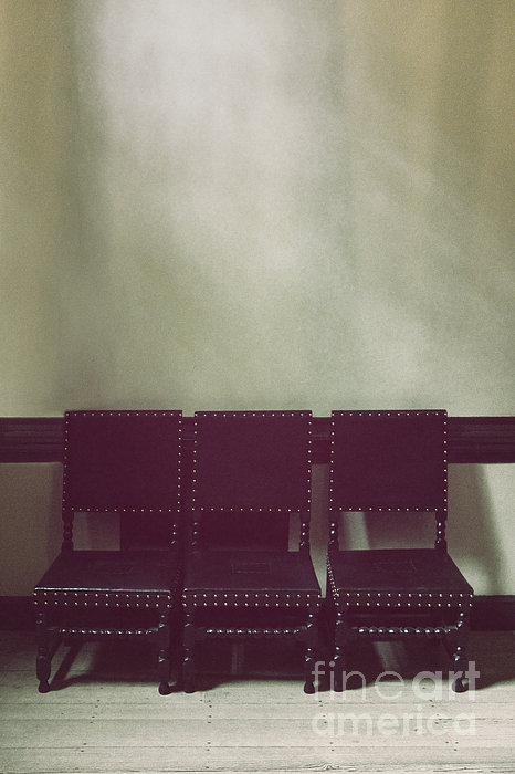 Chairs Photograph - Seating For Three by Margie Hurwich