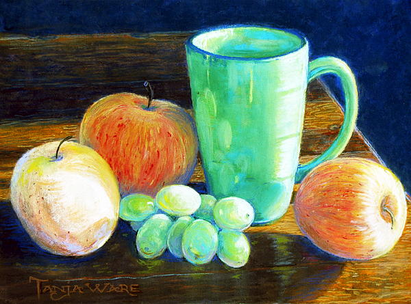 Still Life Painting - Side Light by Tanja Ware