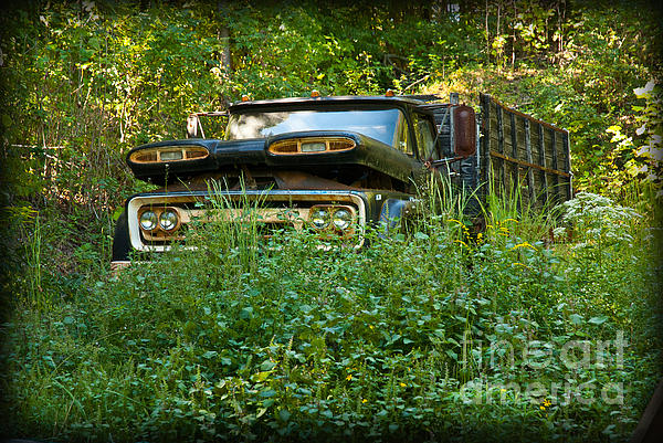 Old Chevy Truck Photograph - Sids Old Truck by Lena Wilhite