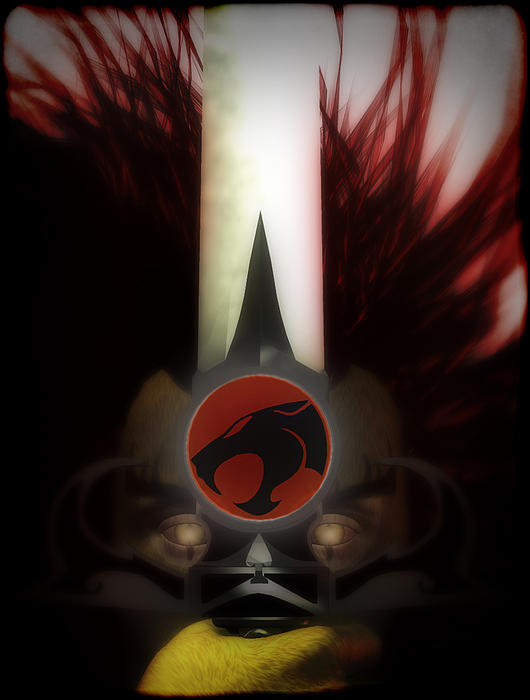 Thundercats Digital Art - Sight Beyond Sight by Frederico Borges