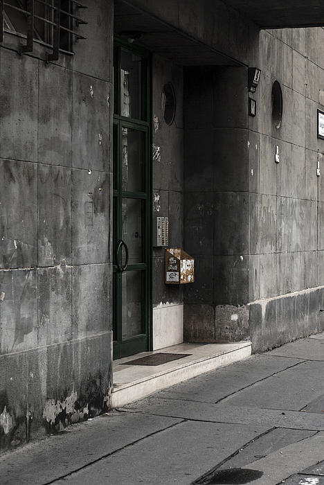 Pictures Of Budapest Hungary Photograph - Slate by Sabina Cosic
