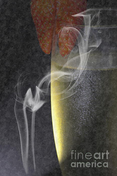 Wine Photograph - Smokey  by Brian Roscorla