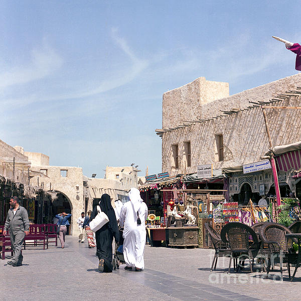 Doha Photograph - Souq Life by Paul Cowan