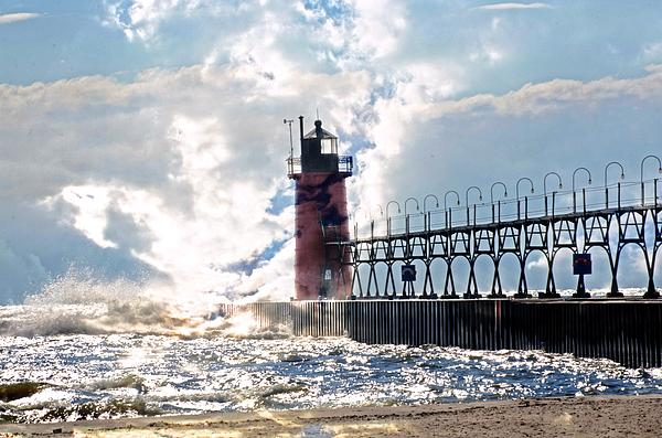 Cheryl Cencich - South Haven Lighthouse