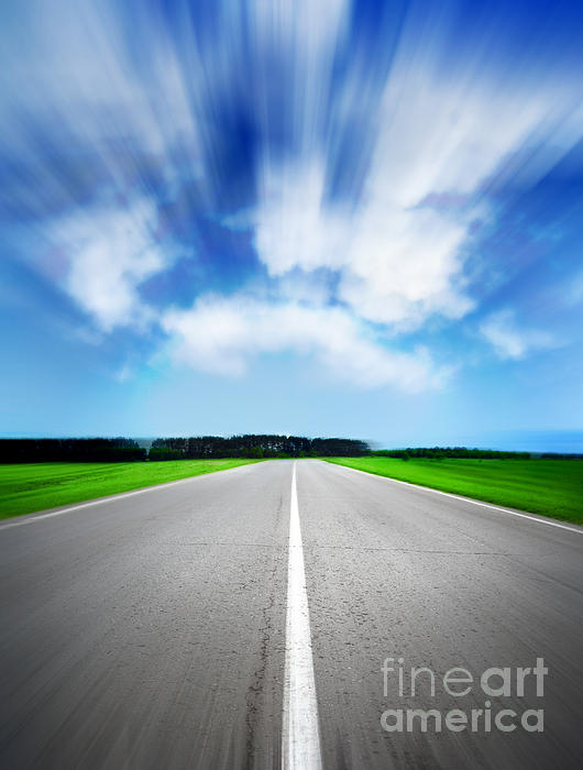 Speed  Photograph - Speed Sky by Boon Mee