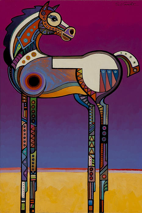 Animal Art Painting - Spirit Horse by Bob Coonts