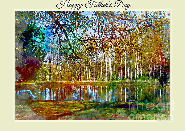 Debbie Portwood - Spring pond photoart Father