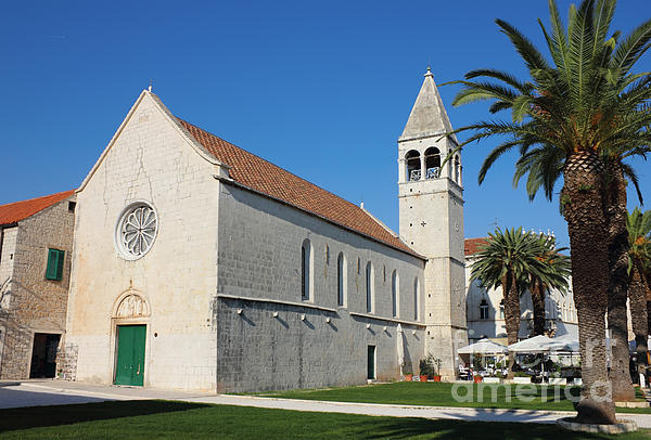 Adriatic Photograph - St Dominic Monastery In Trogir by Kiril Stanchev