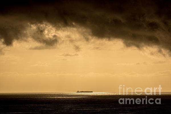Steaming Thru The Sunrise Photograph  - Steaming Thru The Sunrise Fine Art Print