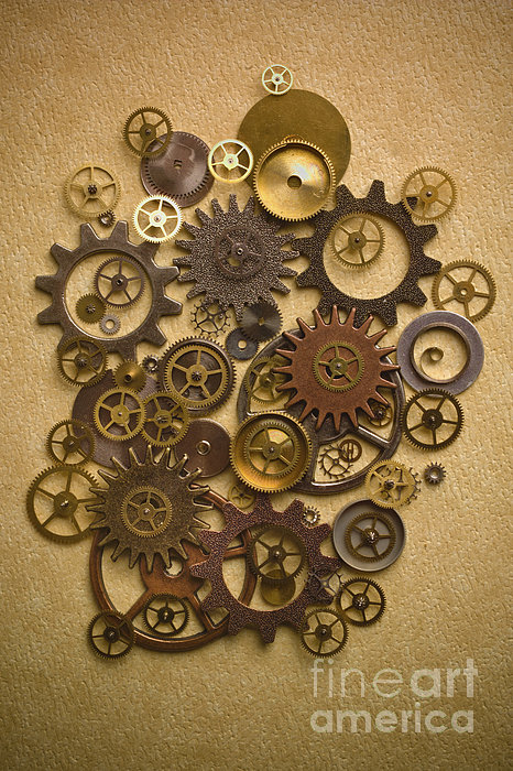 steampunk clock gears car interior design. Black Bedroom Furniture Sets. Home Design Ideas