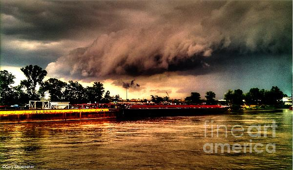 Storms Photograph - Storm Rolling In by Cory Shoemaker