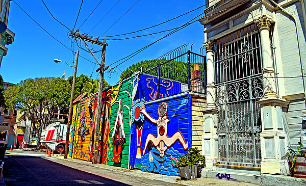 Jim Fitzpatrick - Street Art in the Mission District of San Francisco IV