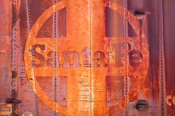 Rust Photograph - Super Chief by Mark Weaver