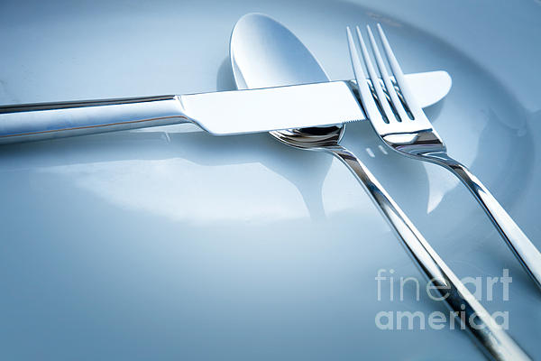 Breakfast Photograph - Table Place Setting by Mythja  Photography