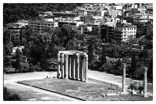 Temple Of Zeus II Photograph  - Temple Of Zeus II Fine Art Print