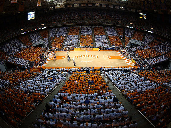 Tennessee Photograph - Tennessee Volunteers Thompson-boling Arena by Replay Photos