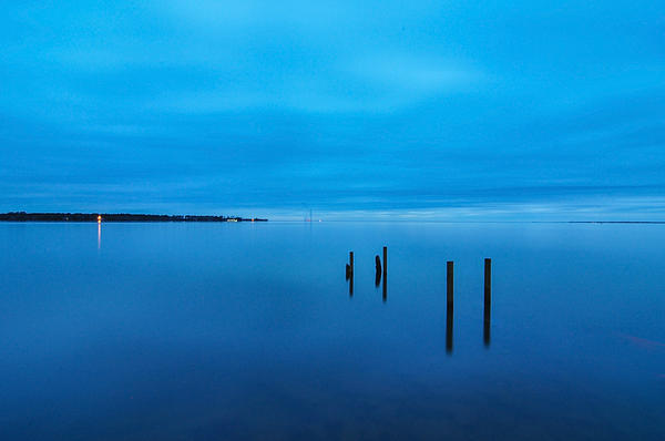 Photograph - The Big Blue by Donnie Smith