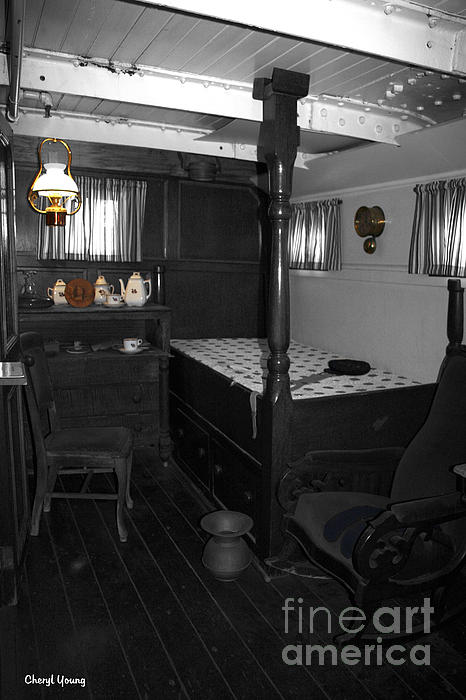 Rooms  Photograph - The Captains Quarters by Cheryl Young