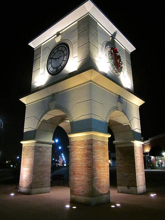 Guy Ricketts Photography Photograph - The Clock Tower by Guy Ricketts