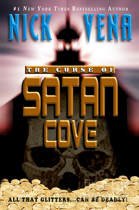 Book Cover Design Photograph - The Curse Of Satan Cove by Mike Nellums