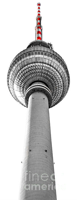 The Fernsehturm - Berlin Photograph  - The Fernsehturm - Berlin Fine Art Print