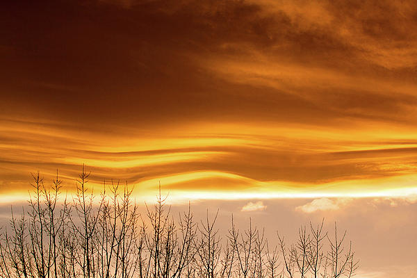 Sunset Photograph - The Flow by Jim Garrison