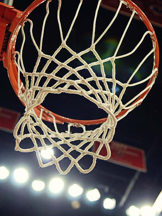 Hoop Photograph - The Goal by Replay Photos