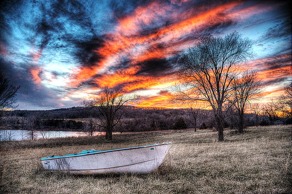 The Humble Boat Photograph - The Humble Boat by William Fields