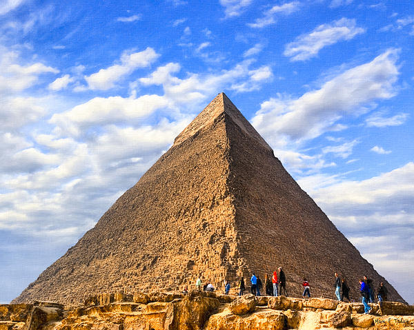 The Last Ancient Wonder - Egyptian Pyramid Photograph  - The Last Ancient Wonder - Egyptian Pyramid Fine Art Print