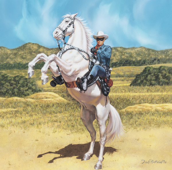 The Lone Ranger Painting  - The Lone Ranger Fine Art Print