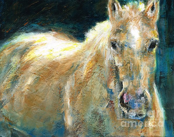 The Palomino Painting  - The Palomino Fine Art Print