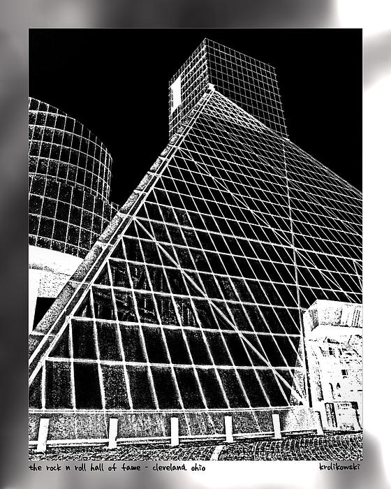 Cleveland Photograph - The Rock Hall Cleveland by Kenneth Krolikowski