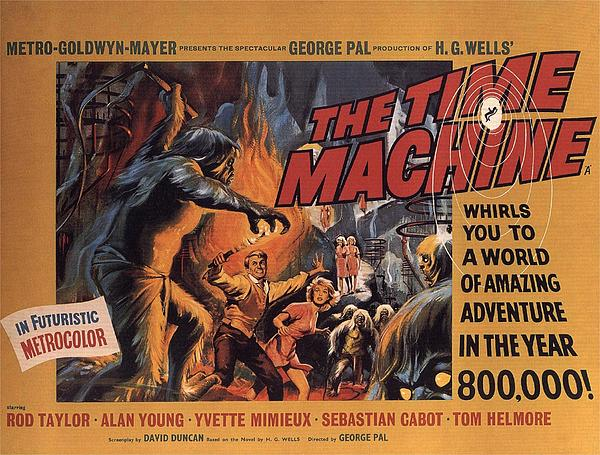 Time Machine Photograph - The Time Machine  by Movie Poster Prints