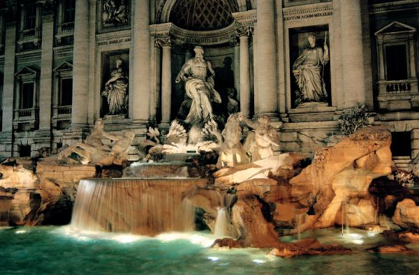 The Trevi Fountain Photograph