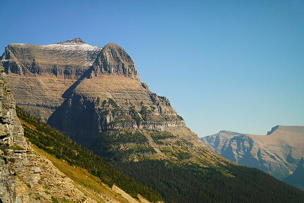 Mountains Photograph - The Very First Snow In Montana In September by Jeff Swan