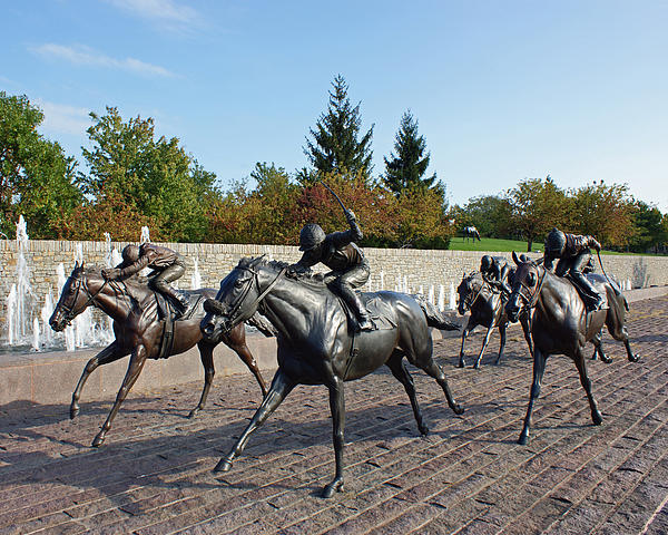 Thoroughbred Park Photograph  - Thoroughbred Park Fine Art Print