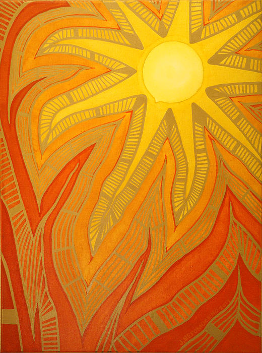 Sun Painting - Time by Jaime  Nepomuceno