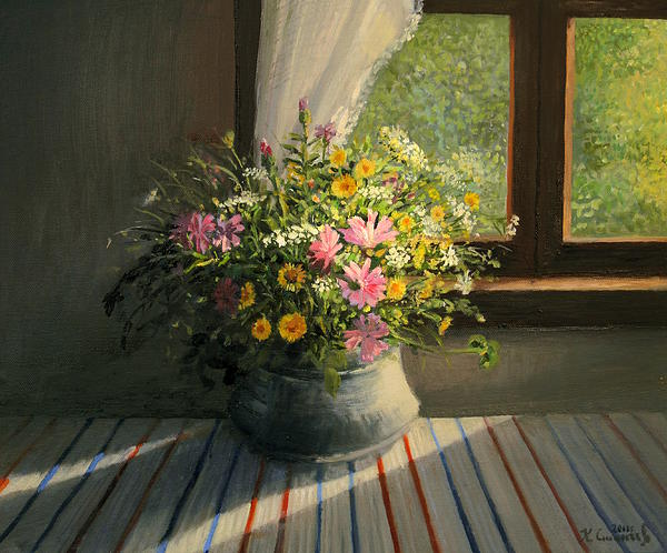 Art Painting - Touched By The Sun by Kiril Stanchev