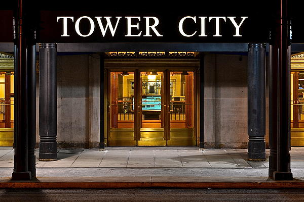 Tower Photograph - Tower City Cleveland Ohio by Frozen in Time Fine Art Photography