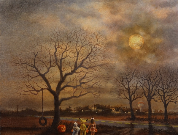 Trick-or-treat Painting