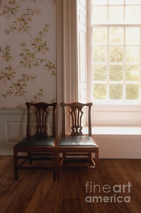 Chairs Photograph - Two by Margie Hurwich
