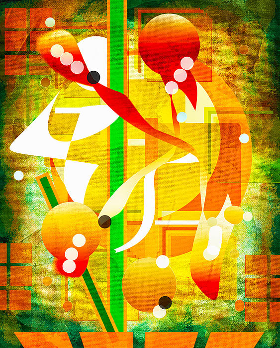 Abstract Art Digital Art - Unforgettable Too by Francine Collier