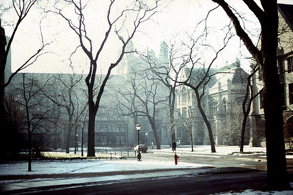 University Of Chicago Photograph - University Of Chicago 1976 by Joseph Duba
