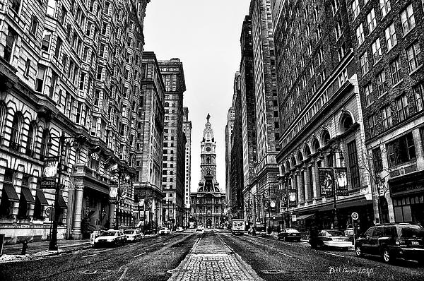 Bill Cannon - Urban Canyon - Philadelphia City Hall