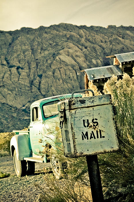 Old Photograph - Us Mail by Merrick Imagery