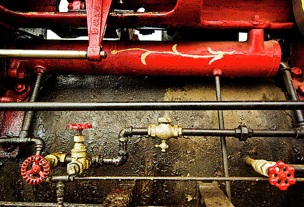 Valves Lines And Tanks Photograph  - Valves Lines And Tanks Fine Art Print