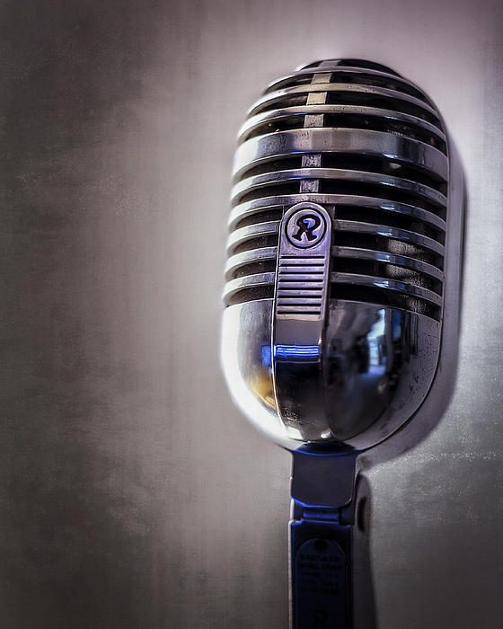 Vintage Microphone 2 Photograph  - Vintage Microphone 2 Fine Art Print