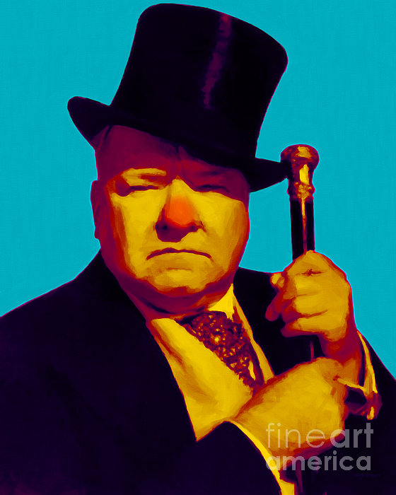 Wc Fields Photograph - W C Fields 20130217m135 by Wingsdomain Art and Photography