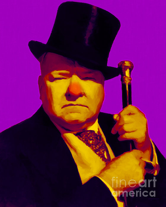 Wc Fields Photograph - W C Fields 20130217m30 by Wingsdomain Art and Photography