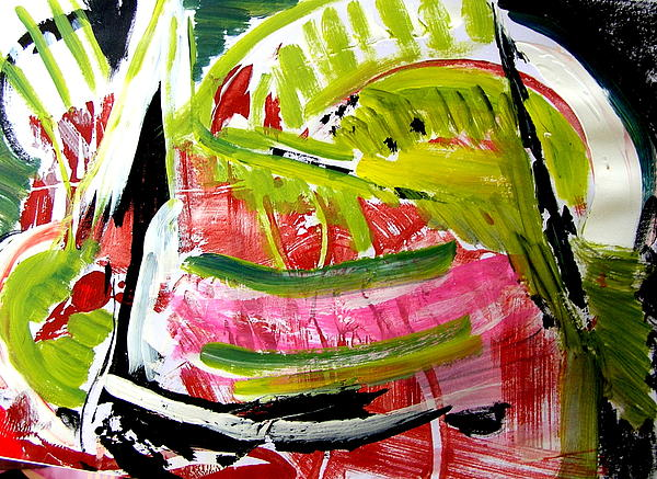 Watermelon Painting Painting - watermelon by Carol  Skinner